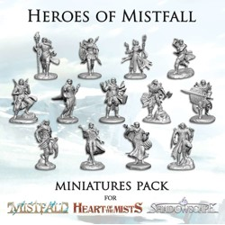 Mistfall - Heroes of Mistfall Miniatures Pack