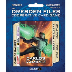 The Dresden Files: Cooperative Card Game - Warde...