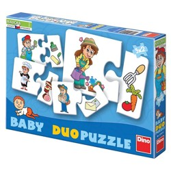 BABY Duo puzzle - Profese