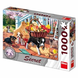 Puzzle Secret collection - Štěňata (1000 dílků)