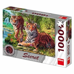Puzzle Secret collection - Tygři (1000 dílků)