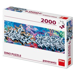 Puzzle Panoramic - Grafitti (2000 dílků)