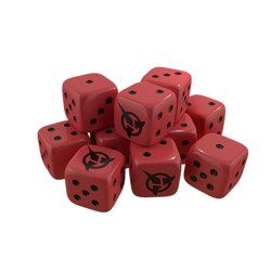 Star Trek: Ascendancy - Klingon dice pack