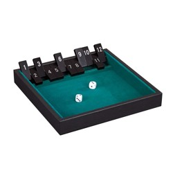 Shut the Box 12 - koženka