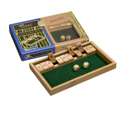 Shut the Box 12 - bambus