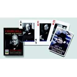 Poker karty W. Churchill