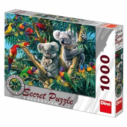 Puzzle Secret collection - Koaly (1000 dílků)