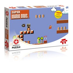 Puzzle: Super Mario Bros. Higher Jumper (500 dílků)