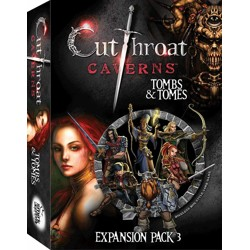 Cutthroat Caverns: Tombs and Tomes (expansion pa...