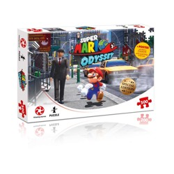 Puzzle: Super Mario Odyssey New Donk City (500 dílků)