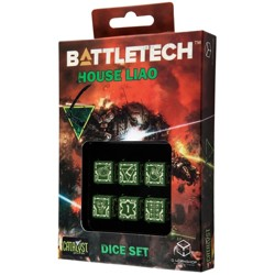 BattleTech: House Liao D6 Dice set