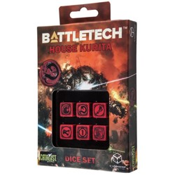 BattleTech: House Kurita D6 Dice set