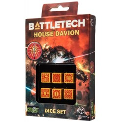 BattleTech: House Davion D6 Dice set