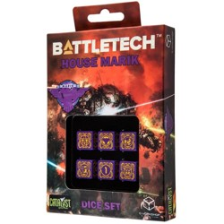 BattleTech: House Marik D6 Dice set