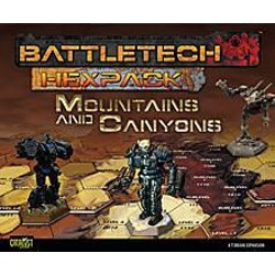 BattleTech: HexPack Mountains & Canyons