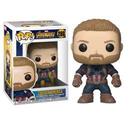 Funko POP: Marvel: Infinity War - Captain America