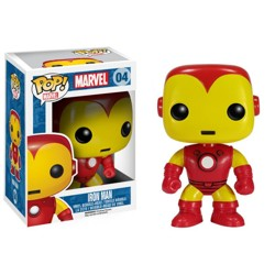 Funko POP Bobble: Marvel - Iron Man