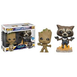 Funko POP Bobble 2-Pack: Marvel: Guardians of th...