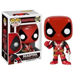 Funko POP Bobble: Marvel: Deadpool - Thumb Up