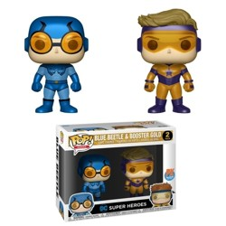 Funko POP 2 Pack: DC: Blue Beetle & Booster Gold...