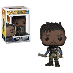 Funko POP: Marvel: Black Panther - Erik Killmong...