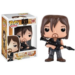 Funko POP: Walking Dead - Daryl Dixon with Rocke...
