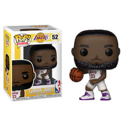 Funko POP: NBA: Lakers - Lebron James (White Uniform)