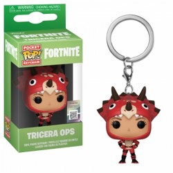 Funko POP: Keychain Fortnite - Tricera Ops
