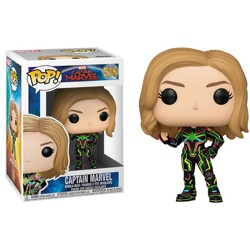 Funko POP: Marvel: Captain Marvel - Captain Marv...