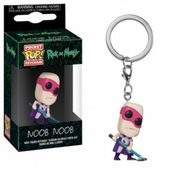 Funko POP: Keychain Rick & Morty - Noob-Noob