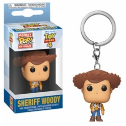 Funko POP: Keychain Toy Story 4 - Woody