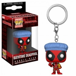 Funko POP: Keychain Deadpool Bathtime