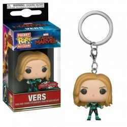 Funko POP: Keychain Captain Marvel - Vers (limited edition)