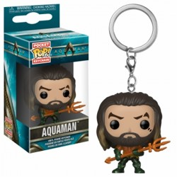 Funko POP: Keychain Aquaman - Arthur Curry as Gl...