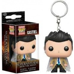 Funko POP: Keychain Supernatural - Castiel with ...