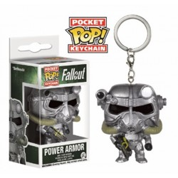 Funko POP: Keychain Fallout - Power Armor