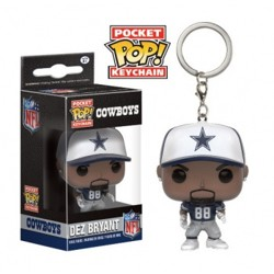 Funko POP: Keychain NFL - Dez Bryant (Dallas Cow...