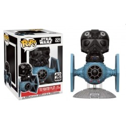 Funko POP: Star Wars - Tie Pilot with Tie Fighte...