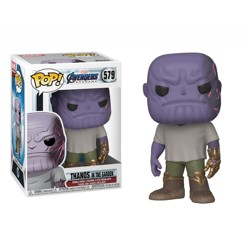 Funko POP: Endgame - Casual Thanos with Gauntlet