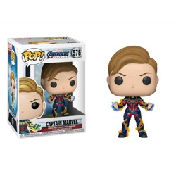 Funko POP: Endgame - Captain Marvel with New Hair