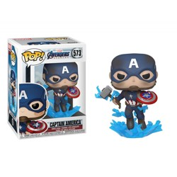 Funko POP: Endgame - Capt A with Broken Shield &...