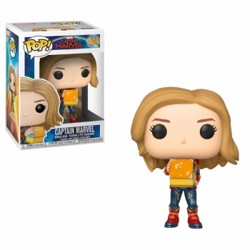 Funko POP: Captain Marvel - Captain Marvel with ...