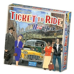 Ticket to Ride: New York City 1960