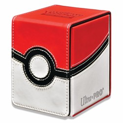 Pokémon UltraPRO: Flip Box - Pokeball kožená kra...