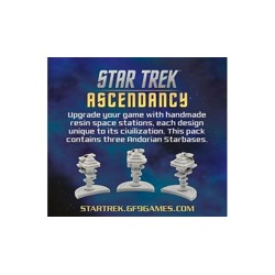 Star Trek: Ascendancy - Andorians starbases pack