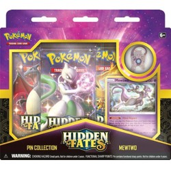 Pokémon TCG: Hidden Fates Pin Collection - Mewtw...