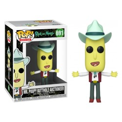 Funko POP: Rick & Morty - Mr. Poopy Butthole Auc...