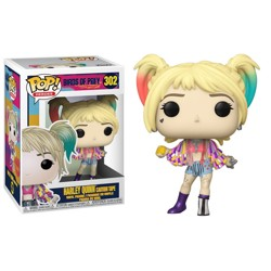 Funko POP: Birds of Prey - Harley Quinn (Caution...