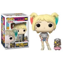 Funko POP: Birds of Prey - Harley Quinn with Bea...