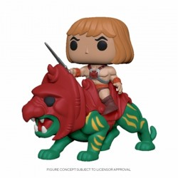 Funko POP: Masters of the Universe - He-Man on B...